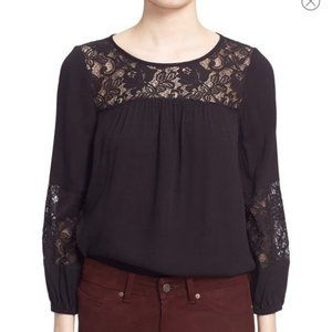 Joie Costal Lace Blouse Size S